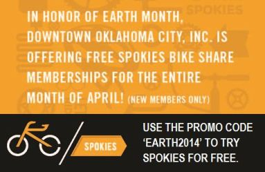 Use promo code EARTH2014 for a free 1-month membership